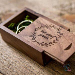 wedding rings box
